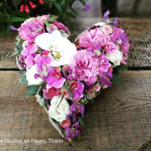 3-Coeur travailler avec orchidées